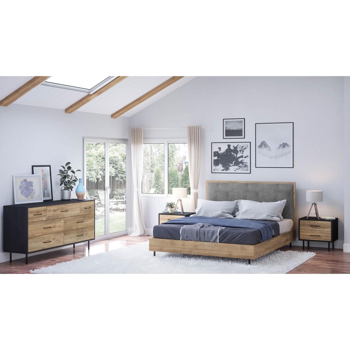 Abbyson Fresco Mid Century 4 Pc. Bedroom Set | Bedroom Sets ...