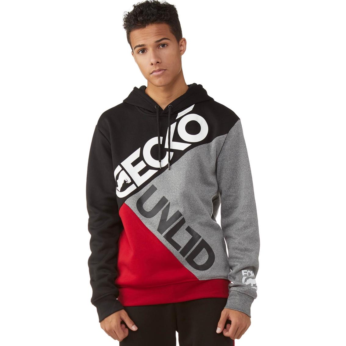 Ecko Unltd Color Block Long Sleeve Hoodie | Sweatshirts