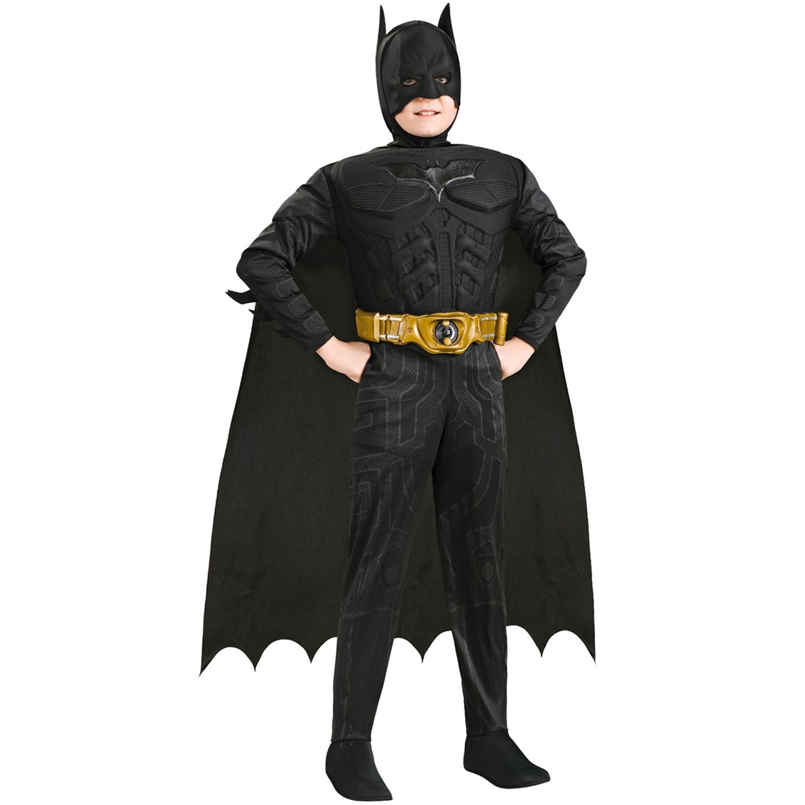 The Batman Muscle Chest Child Costume Size Small 4-6