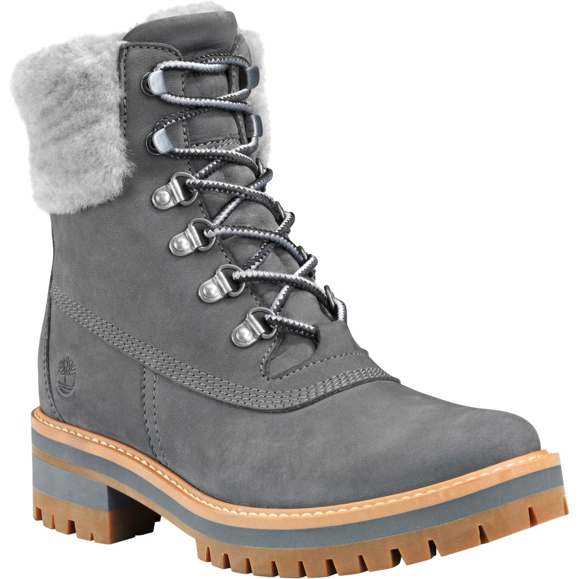Timberland Women's Courmayeur Valley Shearling 6 In. Boots