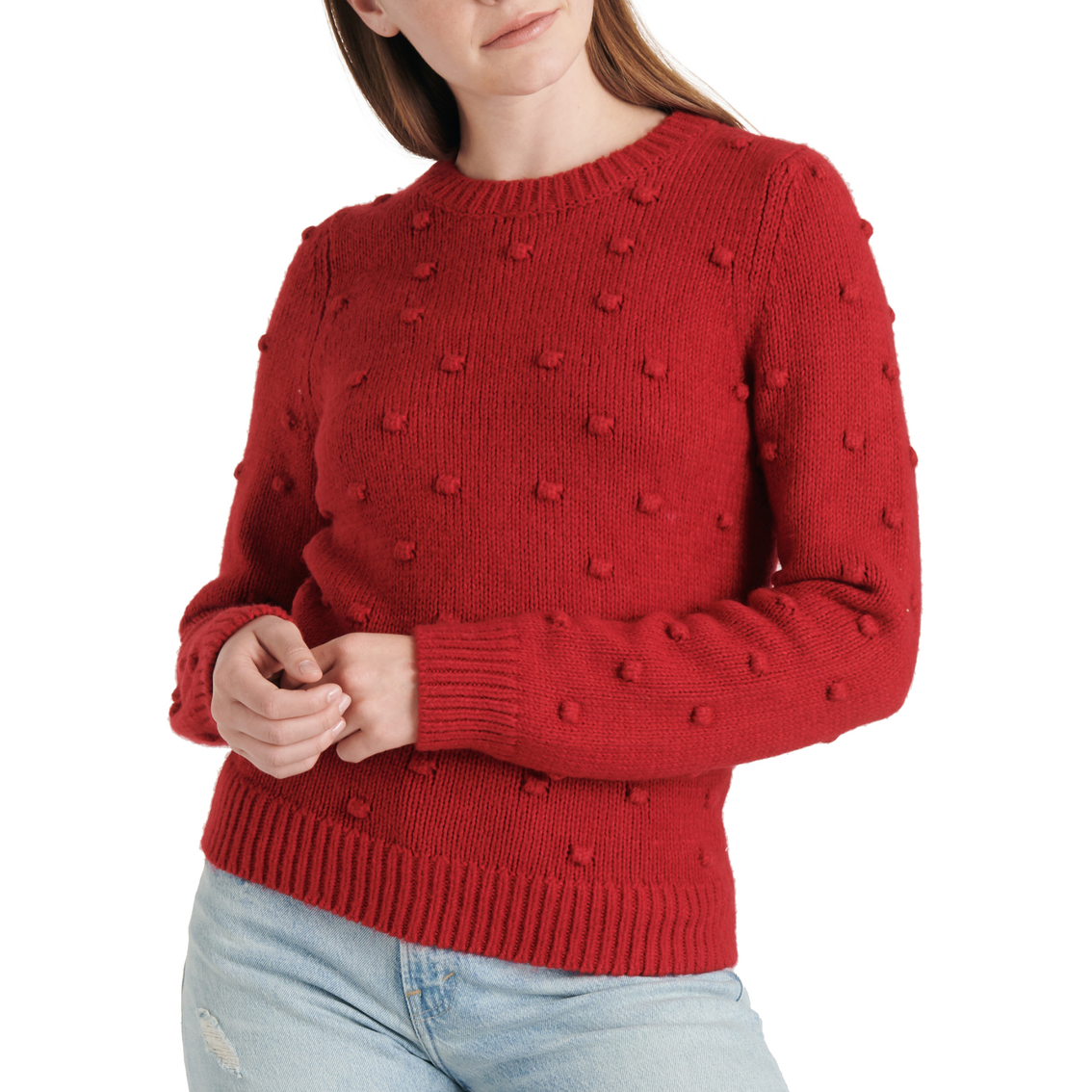 Lucky Brand Bobble Crew Neck Sweater | Sweaters | Clothing