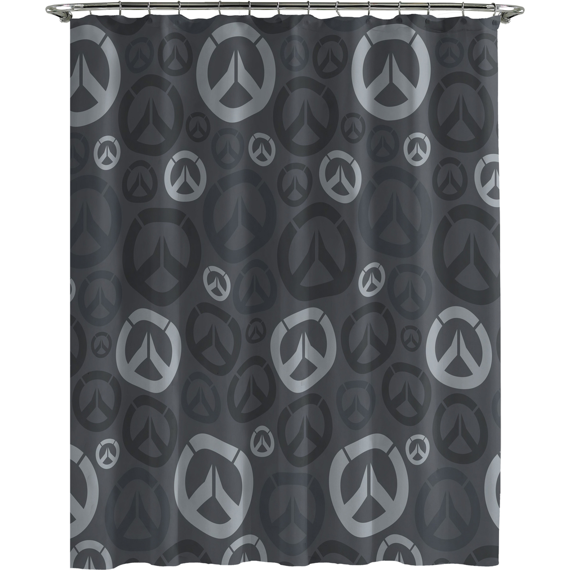 Overwatch Heroes Shower Curtain Hook Set Shower Curtains
