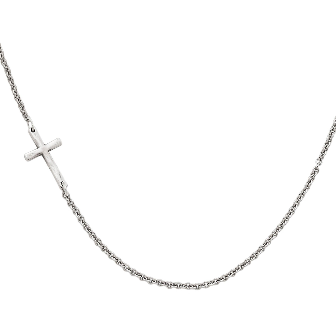 James Avery Horizon Cross Necklace 20 In.   Silver Necklaces ...