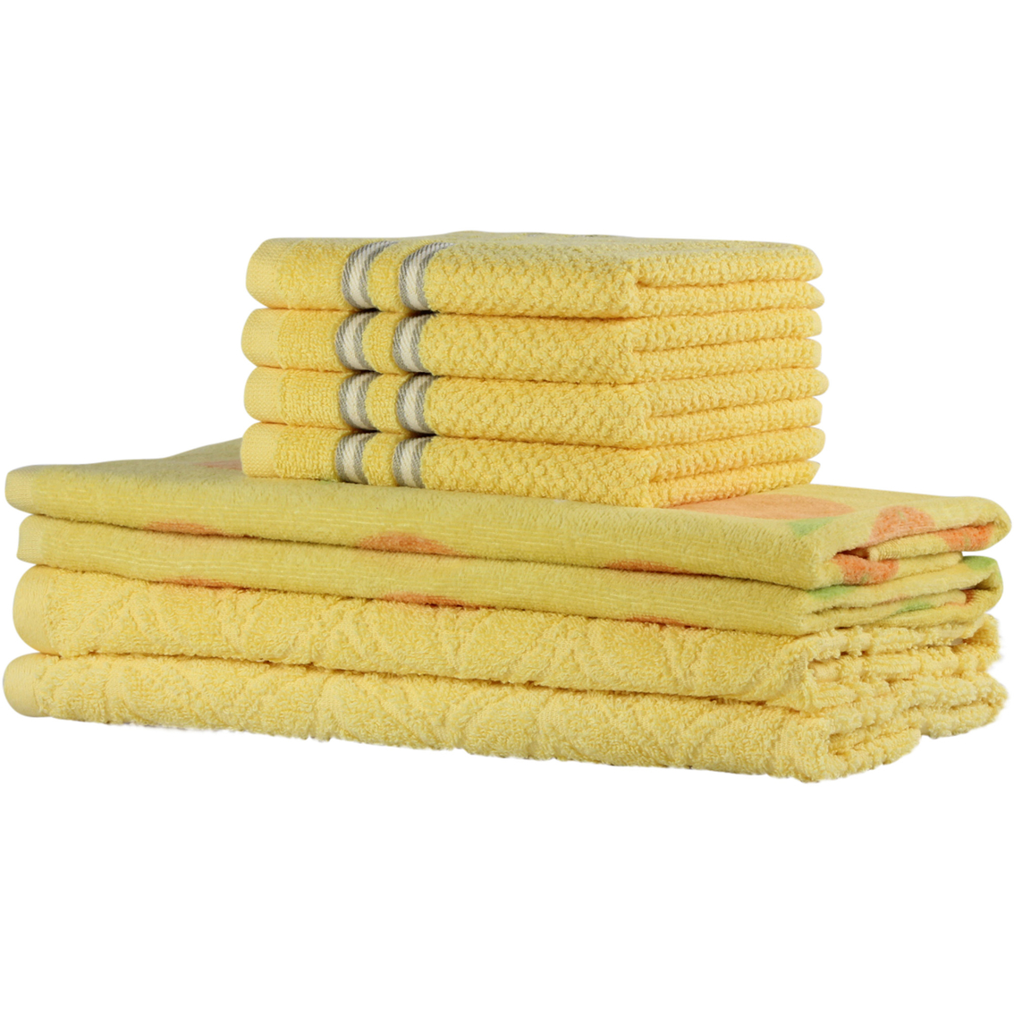 Freshee 8 Pc Orted Kitchen Towel