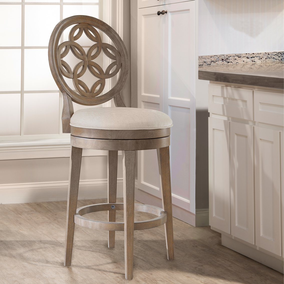 Surprising Hillsdale Savana Swivel Counter Stool Dining Seating Creativecarmelina Interior Chair Design Creativecarmelinacom