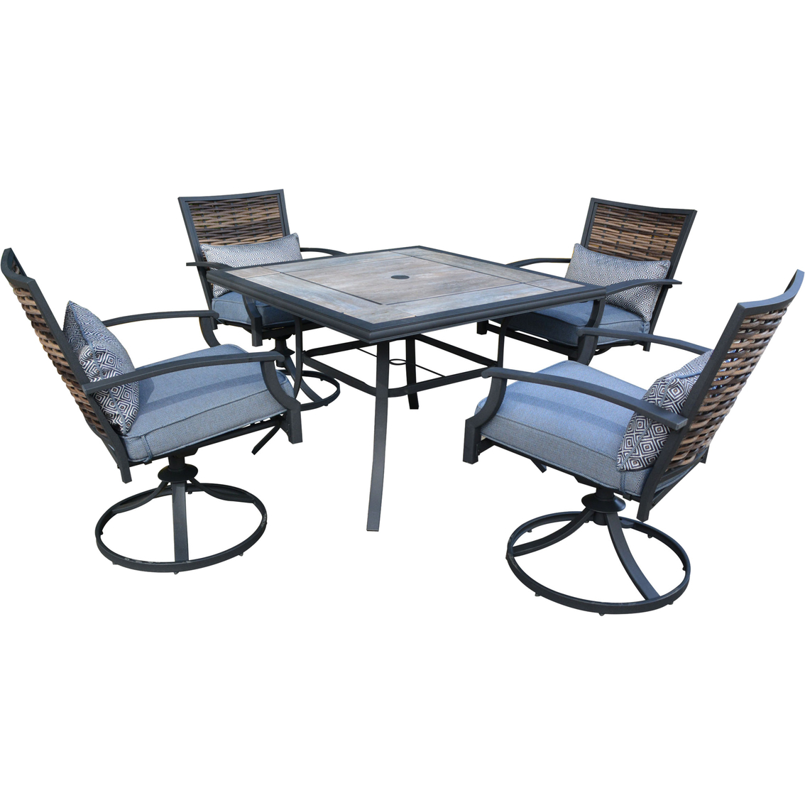 Melrosa 5 Pc Outdoor Dining Set