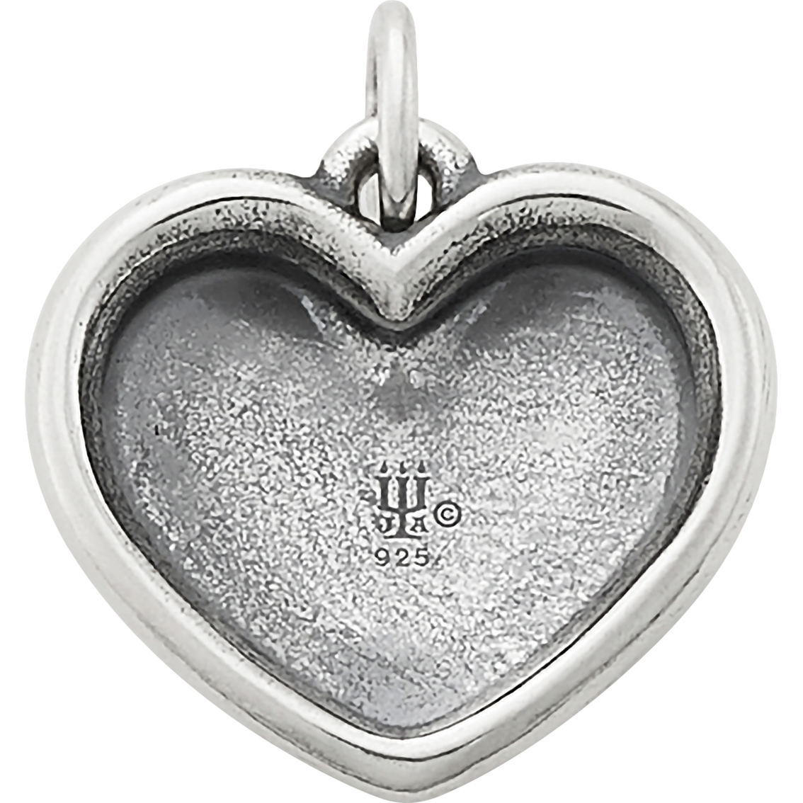"FB Jewels 925 Sterling Silver Heart U Back/â/""/¢ In Memory Necklace"