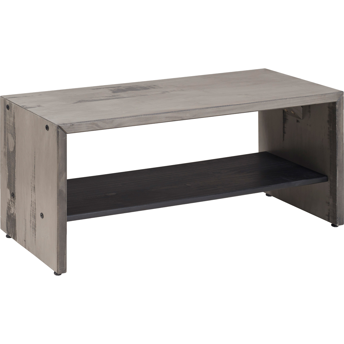 Walker Edison 42 In Rustic Entryway Bench Benches Furniture Appliances Shop The Exchange