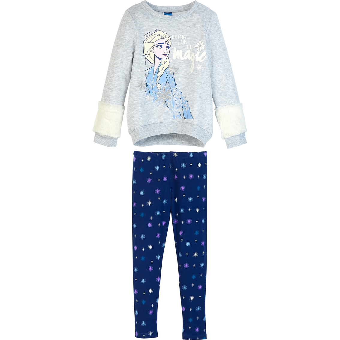 Disney Frozen Toddler Girls Long Sleeve Shirt /& Leggings Set