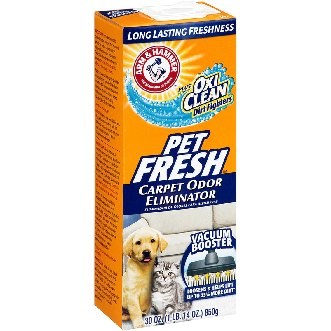 Arm Amp Hammer Plus Oxiclean Dirt Fighters Pet Fresh Carpet