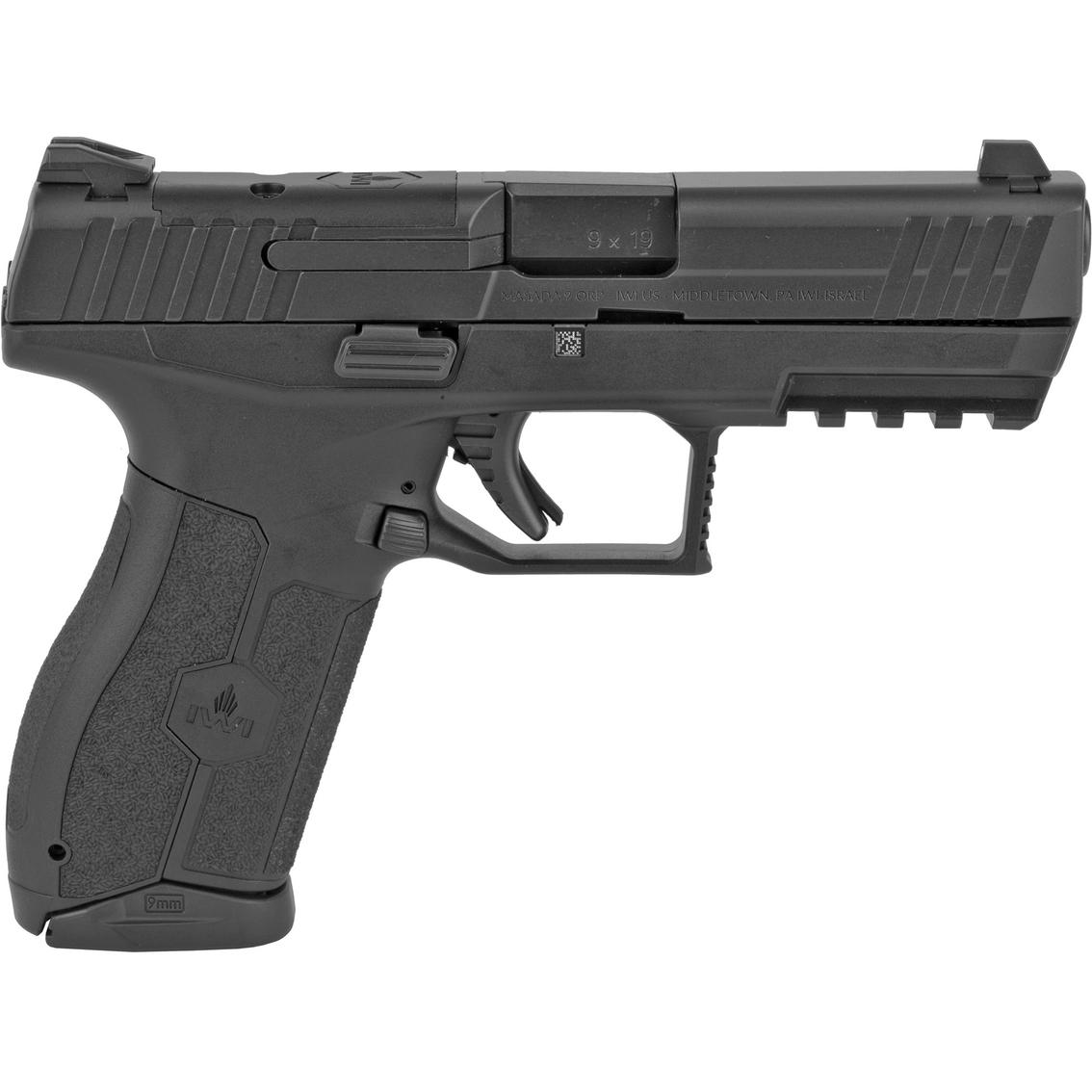 Iwi Masada 9mm 4 1 In Barrel 17 Rnd Pistol Black Handguns Sports Outdoors Shop The Exchange