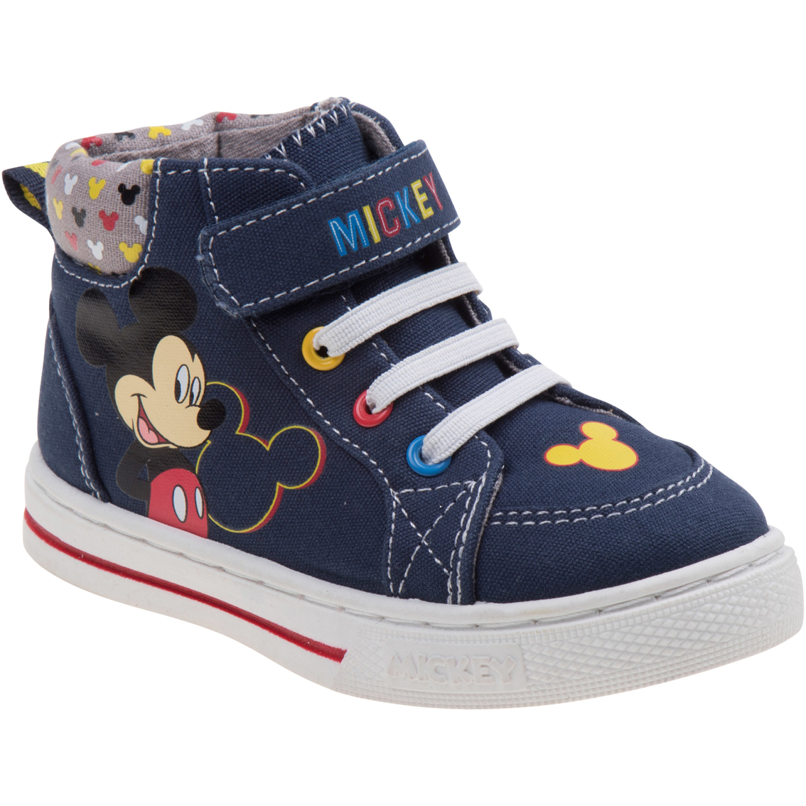 Mickey Mouse Toddler Boys Hi Top