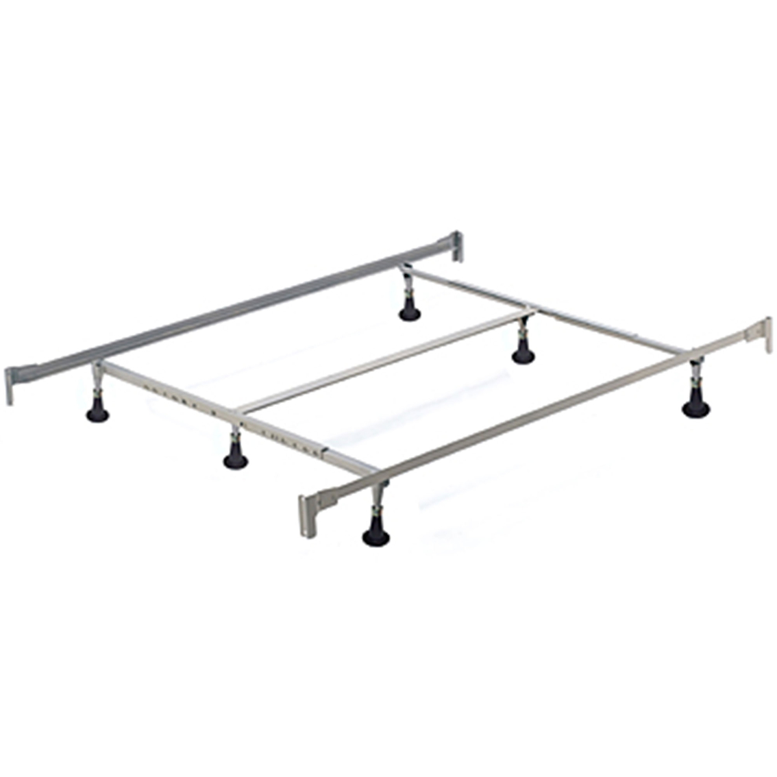 Hillsdale Queen/king Bed Frame With 6 Leg Support | Beds | Home ...