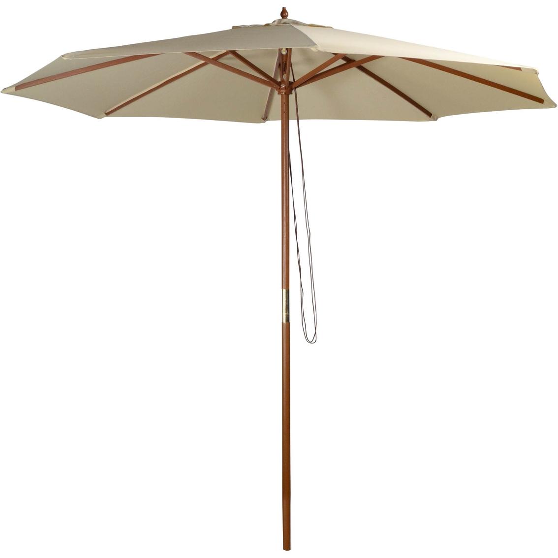 Natural Market Umbrella