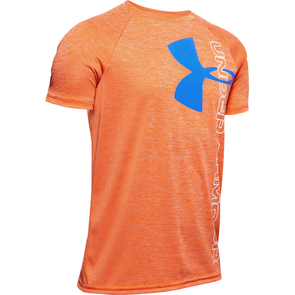 Under Armour Boys Tech Split Logo Hybrid T-Shirt