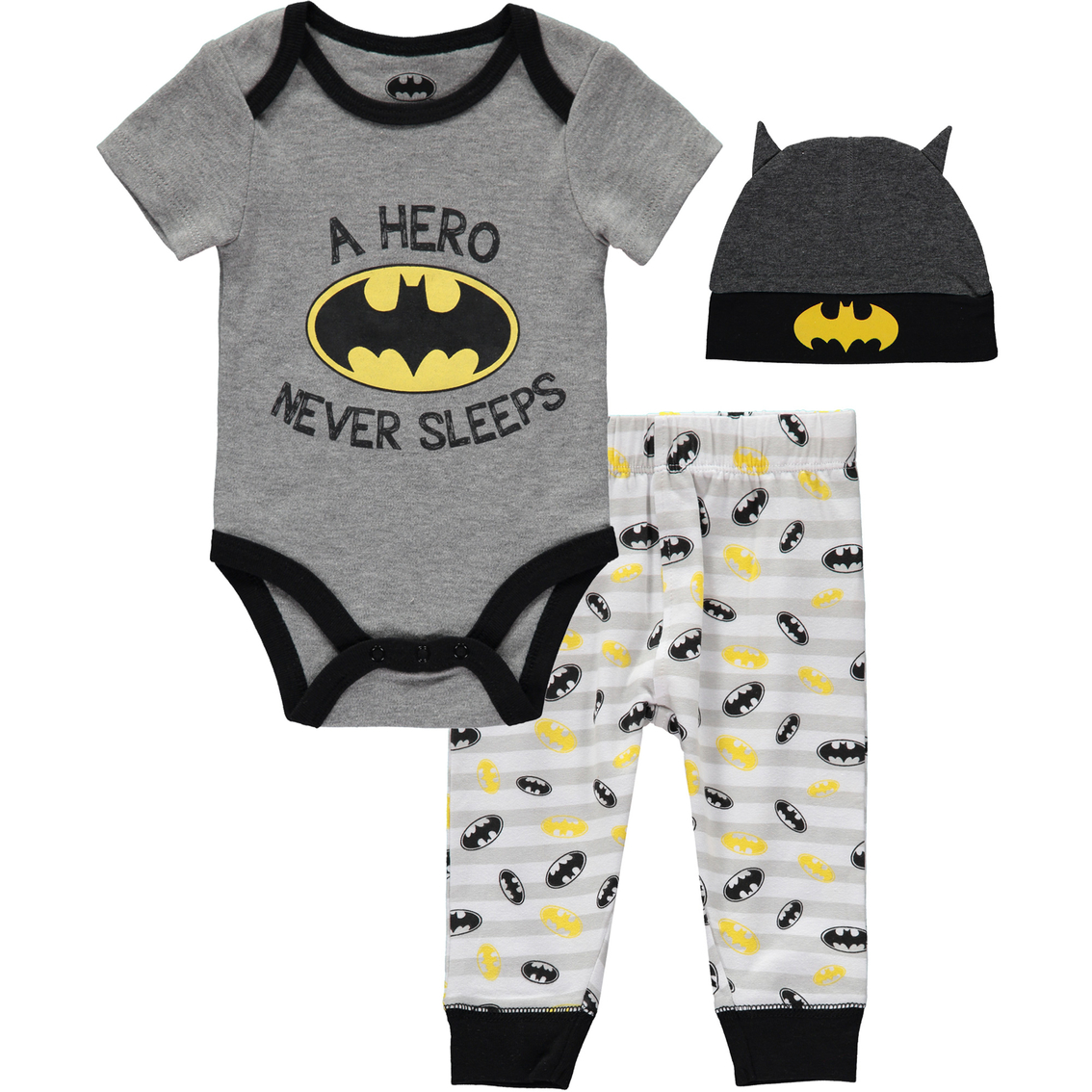 Batman Baby Boys Footies Size 6-9M