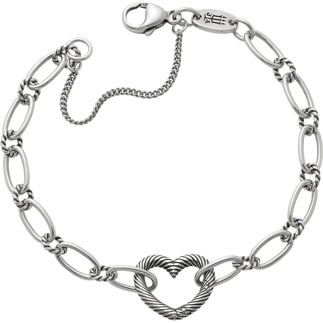 James Avery Changeable Heart Charm Bracelet Silver Bracelets Jewelry Watches Shop The Exchange