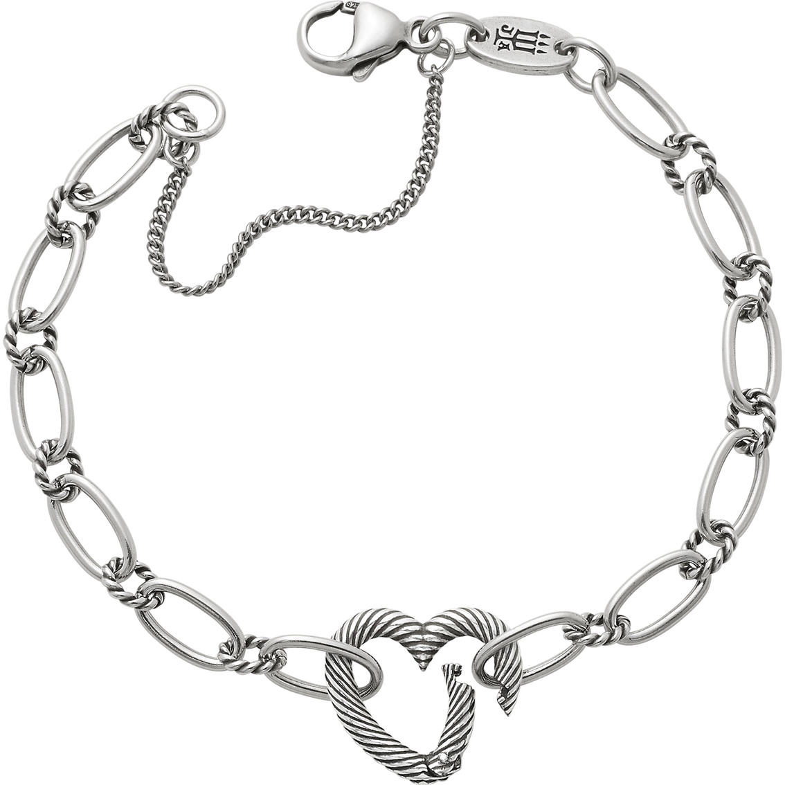 James Avery Changeable Heart Charm Bracelet   Silver Bracelets ...