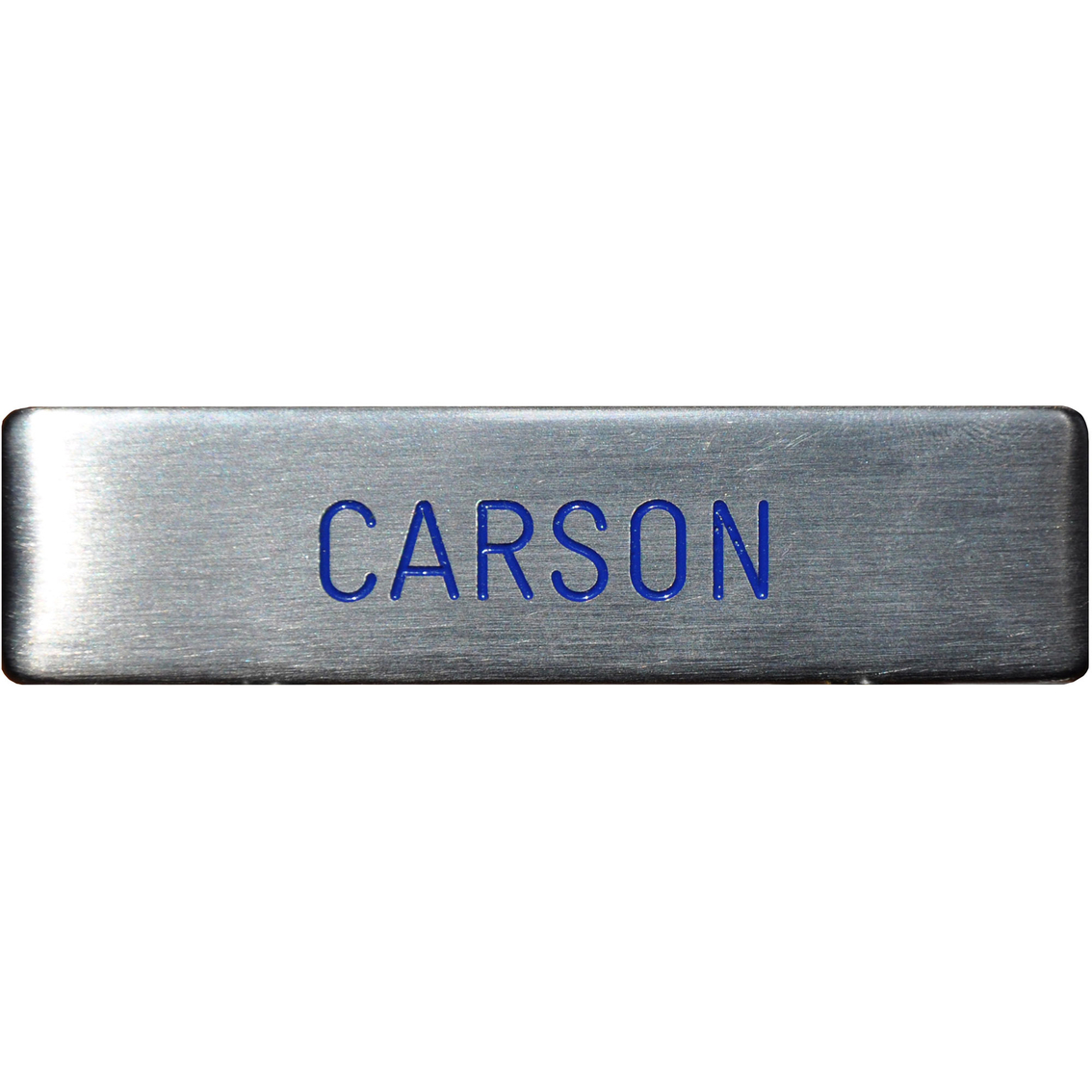 Air Force Silver Metal Engraved Nametag | Name Tags | Military ...