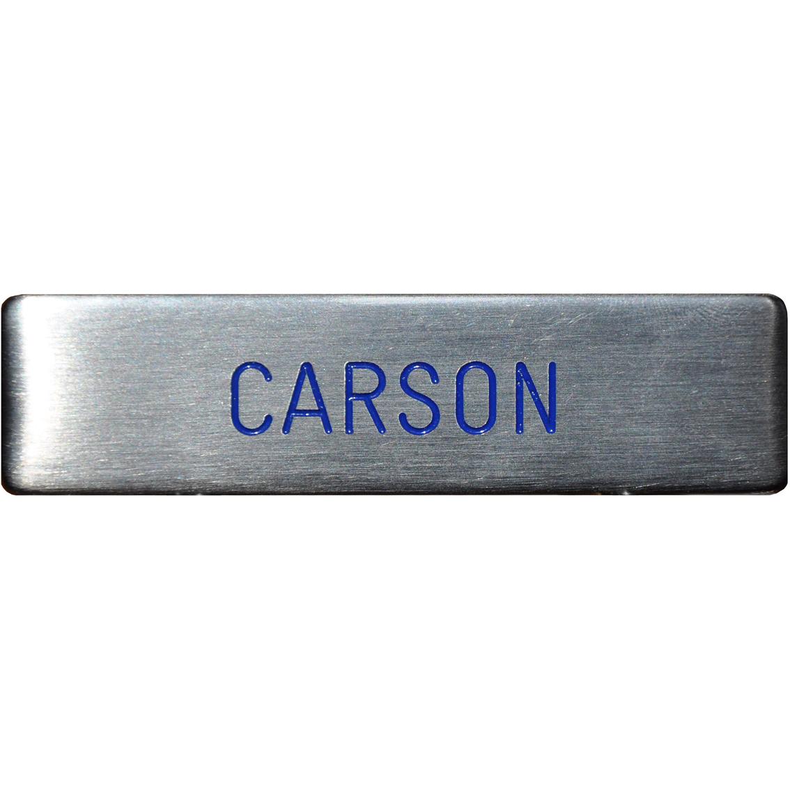 Air Force Silver Metal Engraved Nametag Name Tags