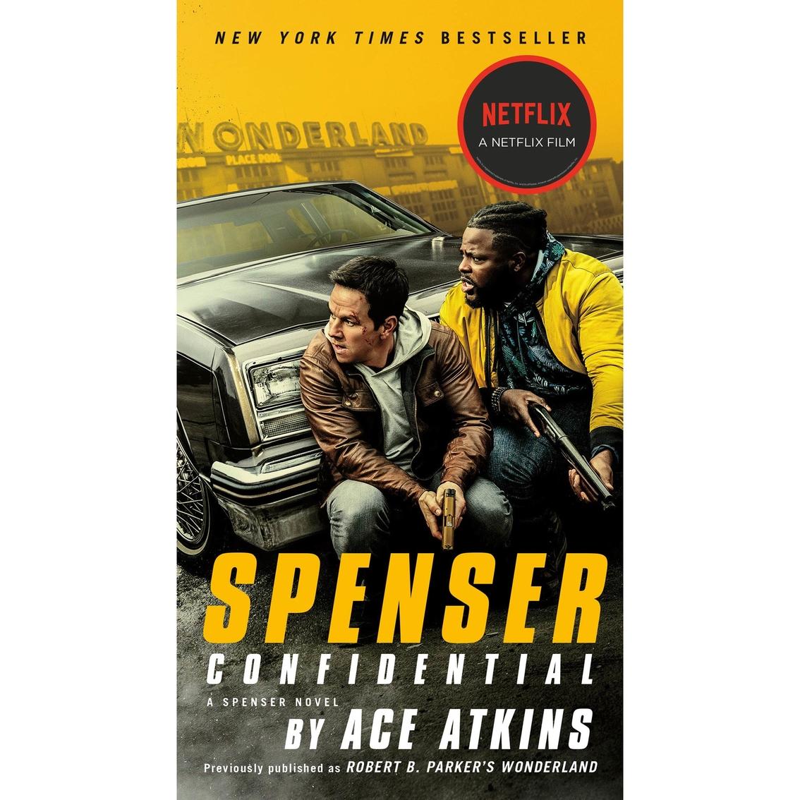 Spenser Confidential Movie Tie In Fiction Literature Home Office School Shop The Exchange