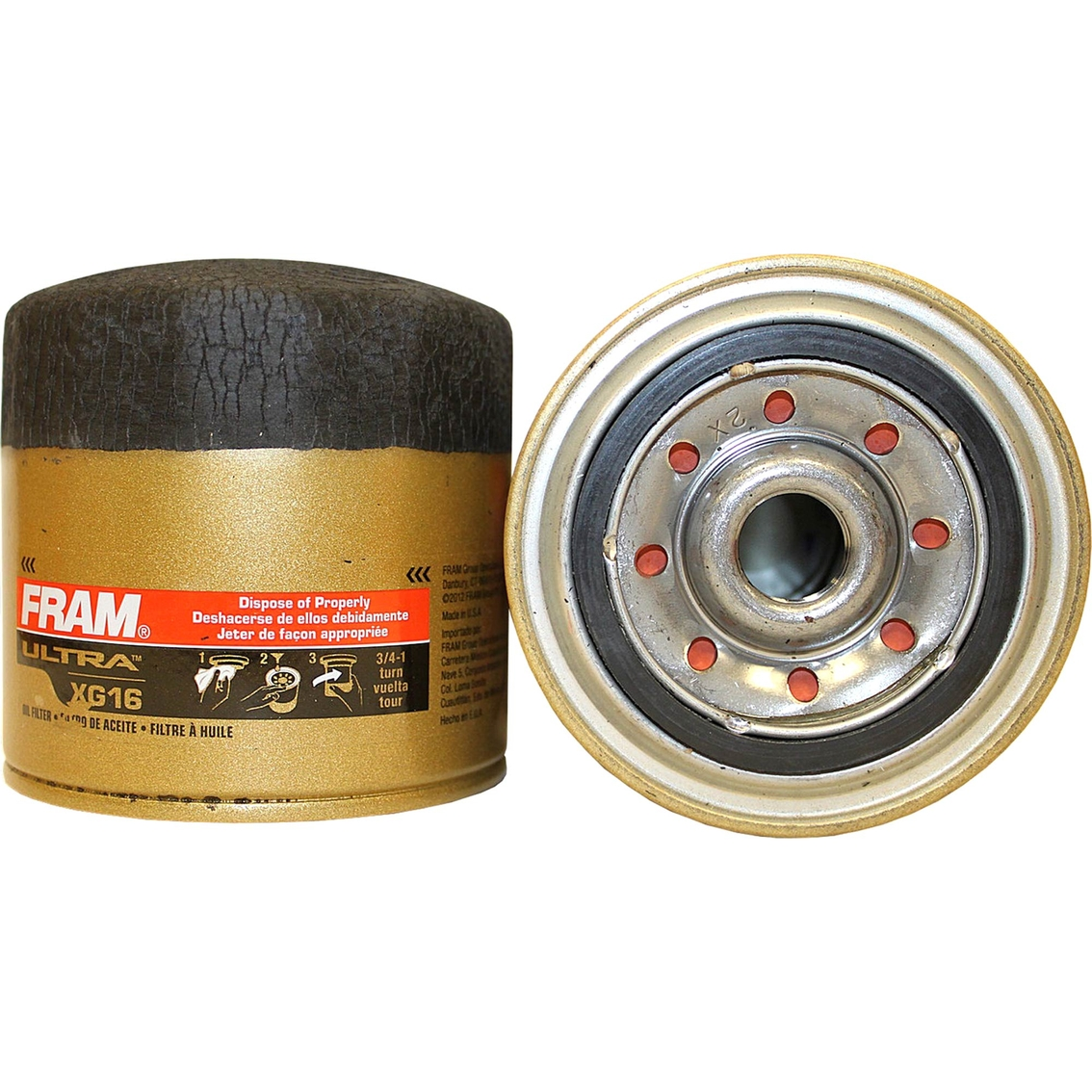 Fram Ultra Spin On Oil Filter, Xg16   Replacement Parts