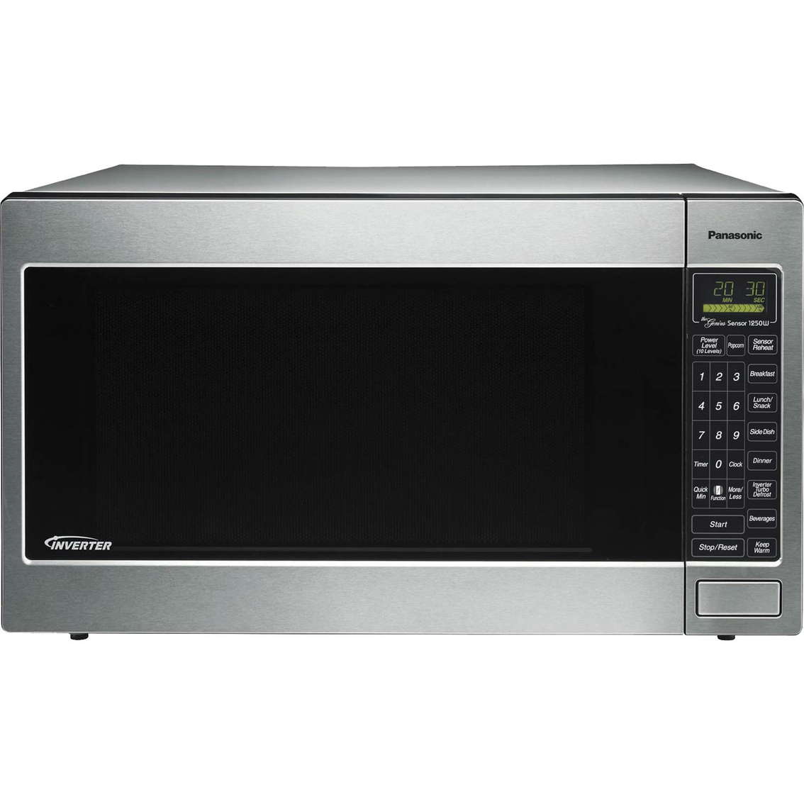 Panasonic Luxury Full Size 2 Cu Ft Inverter Microwave
