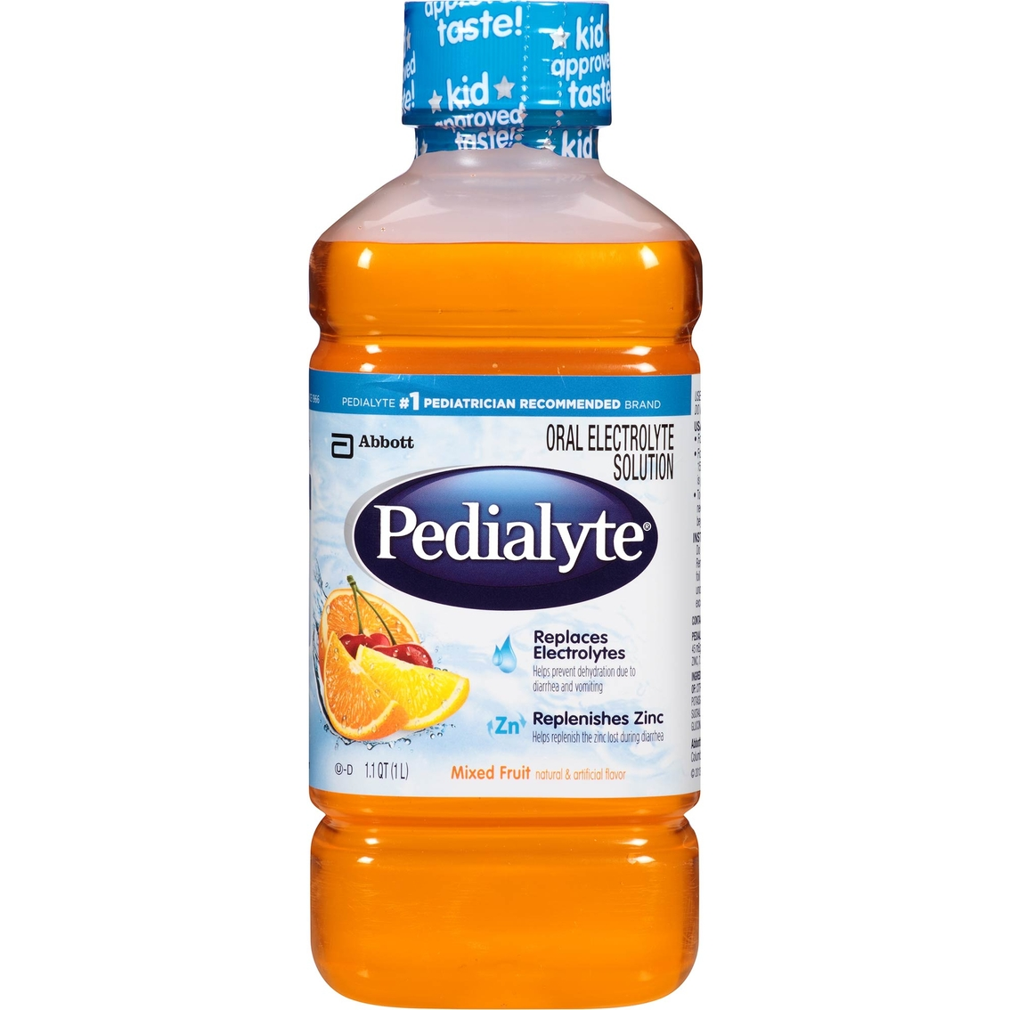 Pedialyte 1 1 Qt Mixed Fruit Oral Electrolyte Solution