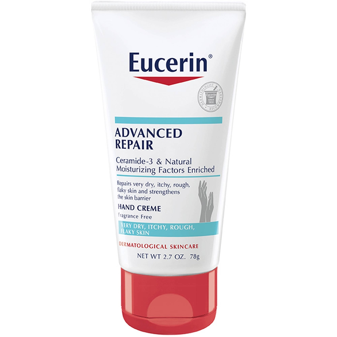 Eucerin intensive repair extra enriched hand cream