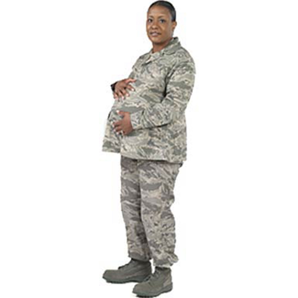 The Air Force Uniform Office, located at Wright-Patterson Air Force Base, OH., has released the newest version of the Maternity Airman Battle Uniforms.