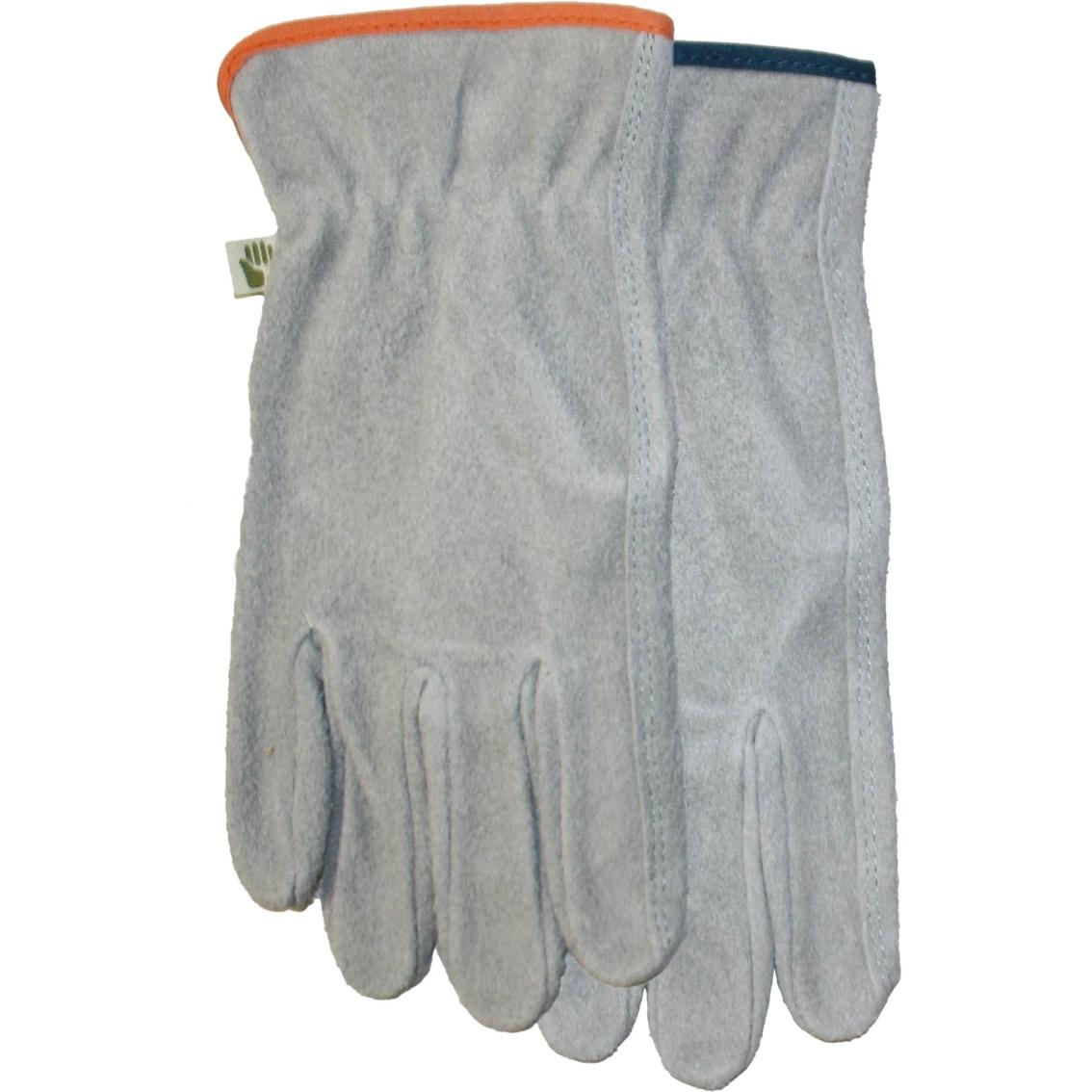 Midwest Gloves U0026 Gear Womenu0027s Suede Leather Gardening Gloves