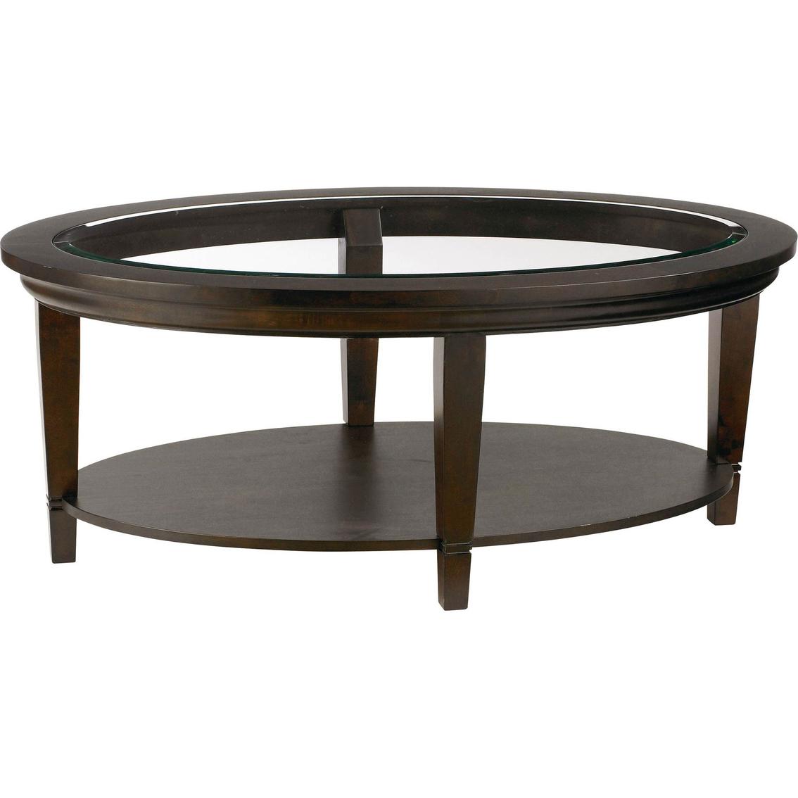 Bassett Easton Oval Cocktail Table Living Room Tables