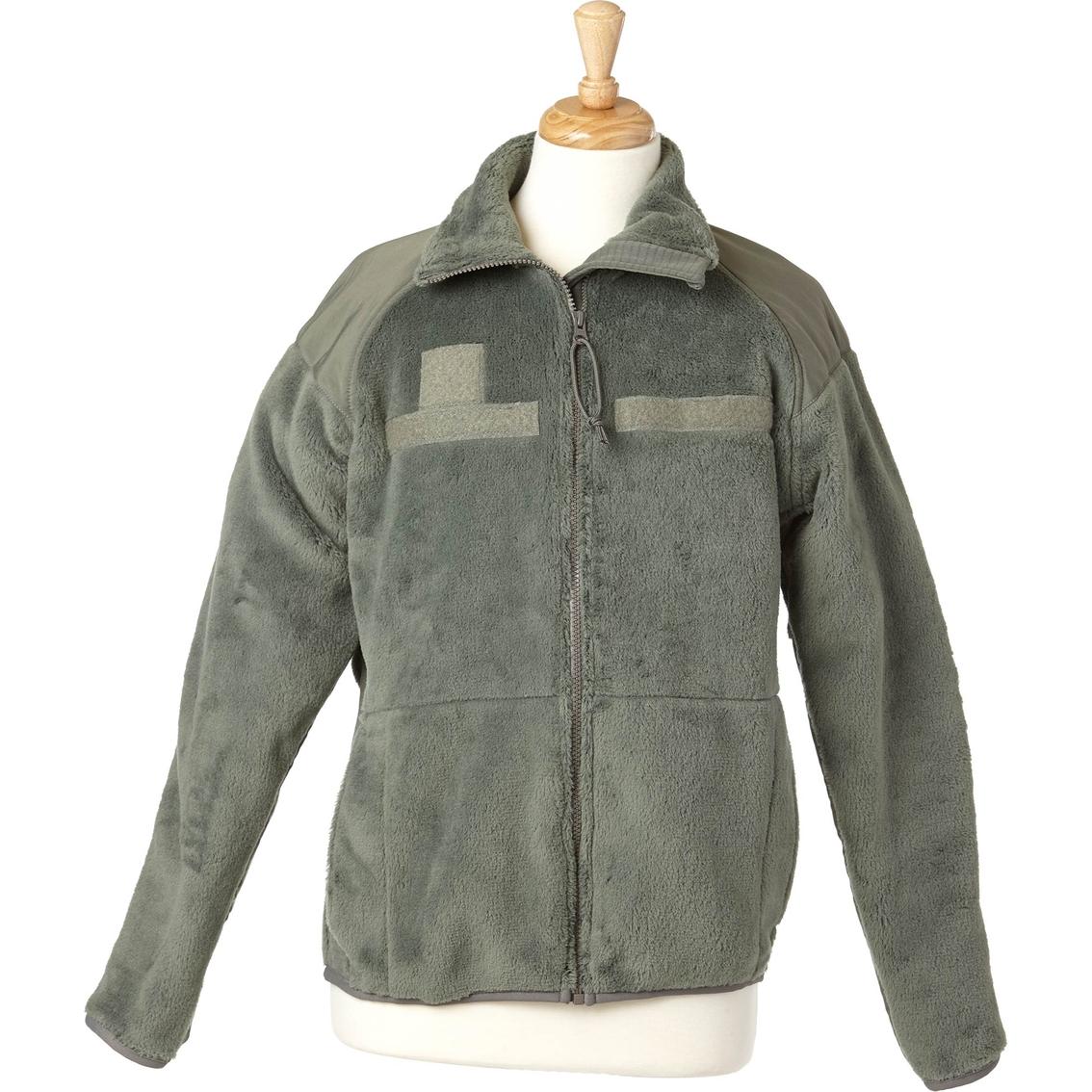 Dlats Foliage Green Fleece Jacket  a92fb56eb85