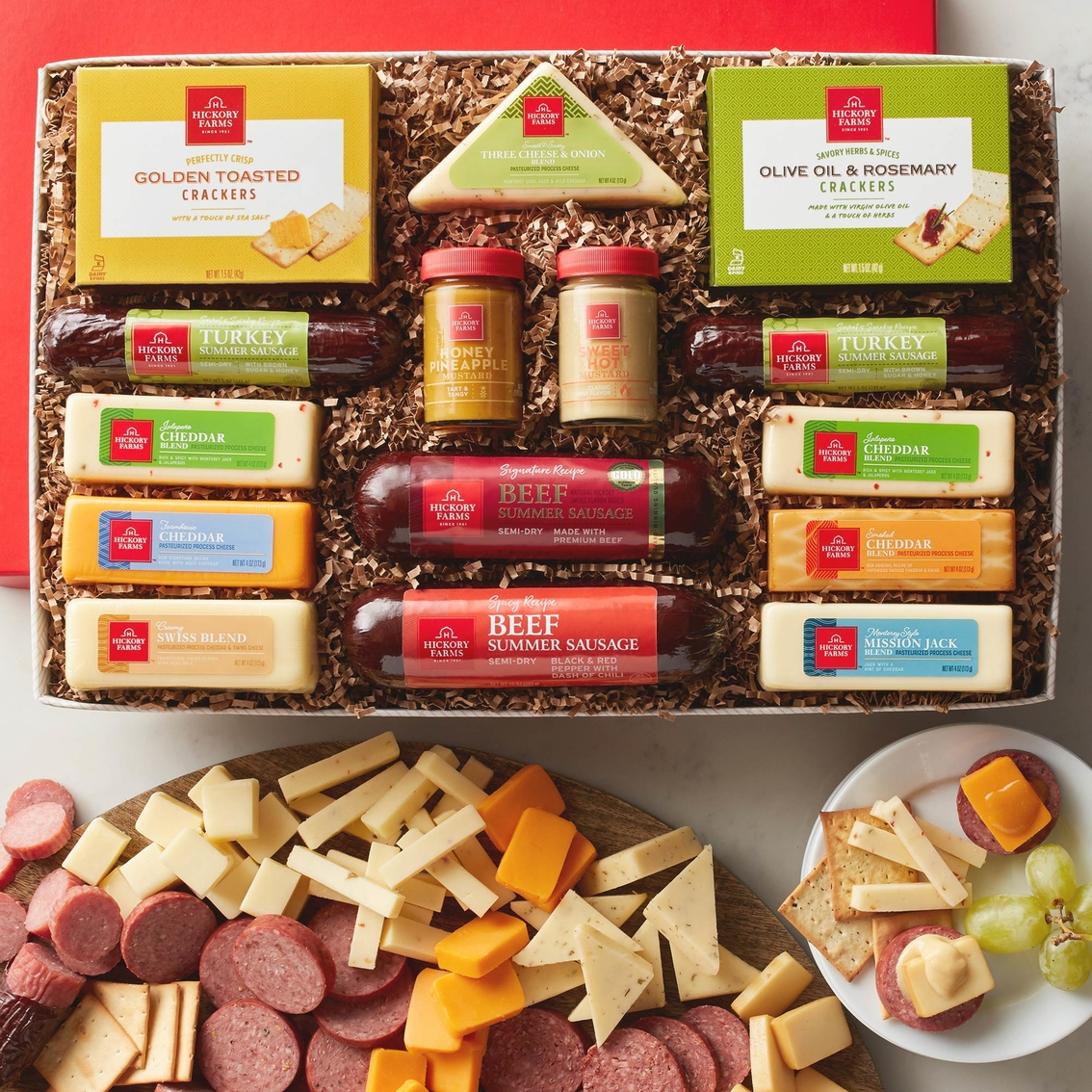Hickory Farms Best Friends Gift Box