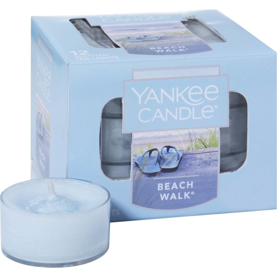 Yankee Candle Beach Walk Tea Light Candles 12 pk.