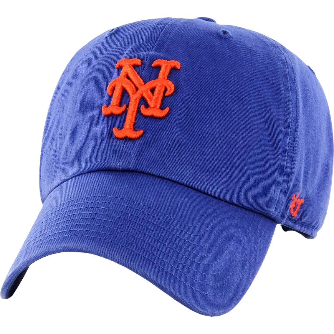 66de42a4d8d 47 Brand Mlb New York Mets Men s Clean Up Baseball Cap