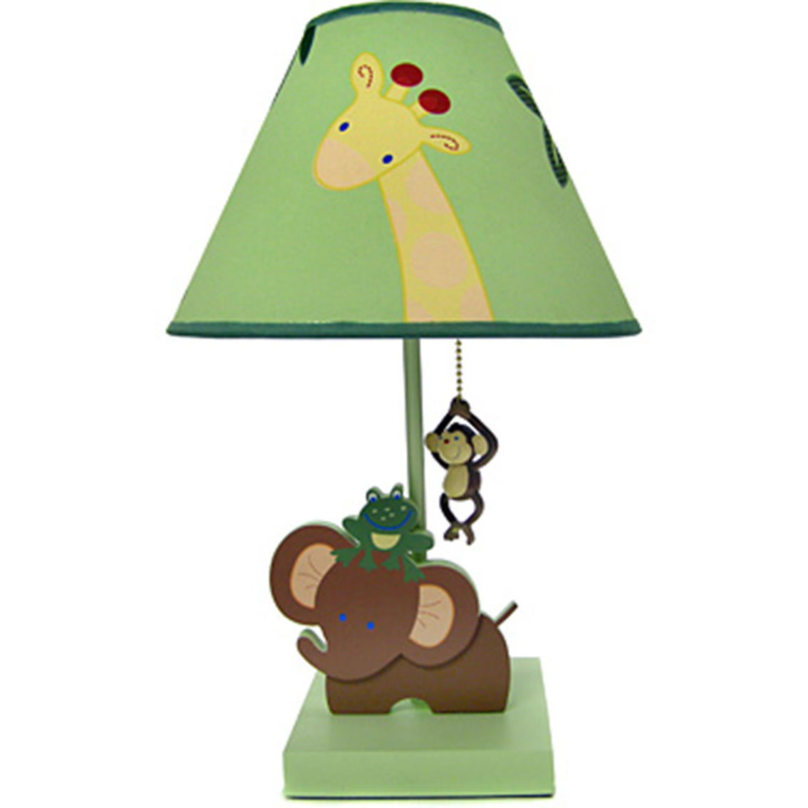 Nojo jungle babies lamp and shade lamps nightlights baby nojo jungle babies lamp and shade aloadofball Images