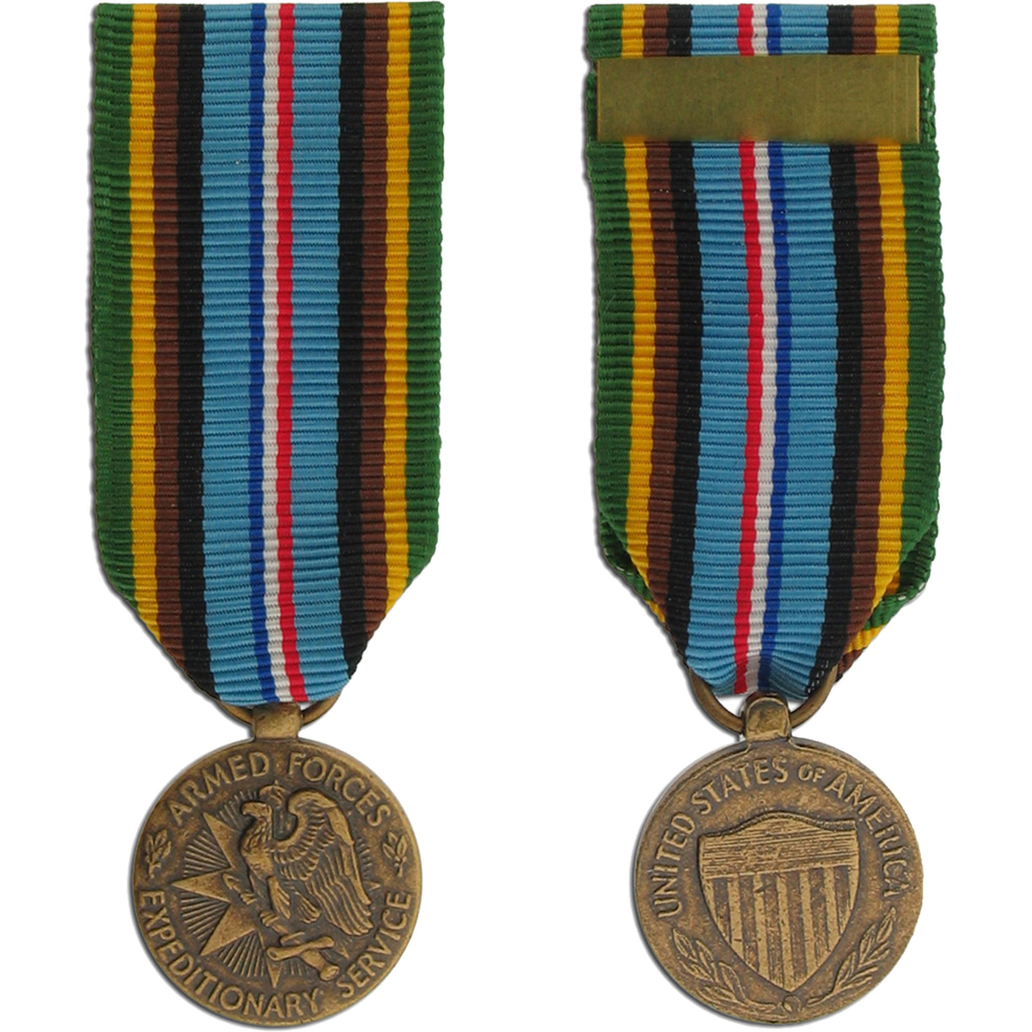 Miniature Medal-armed Forces Service | Mini Medals