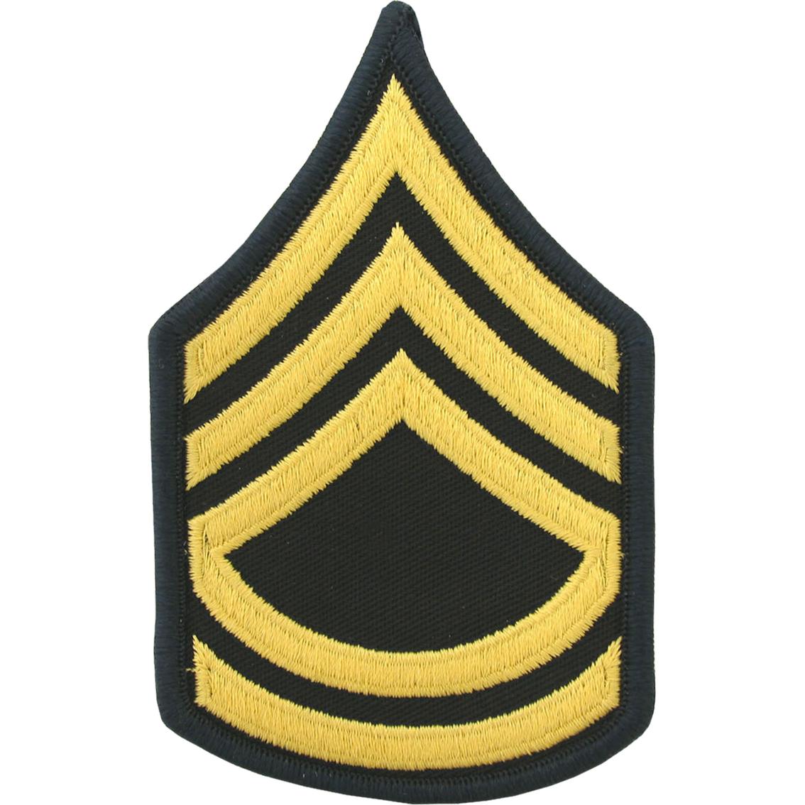 Army Sfc Small Asu Sew On Rank Small Asu Rank Military