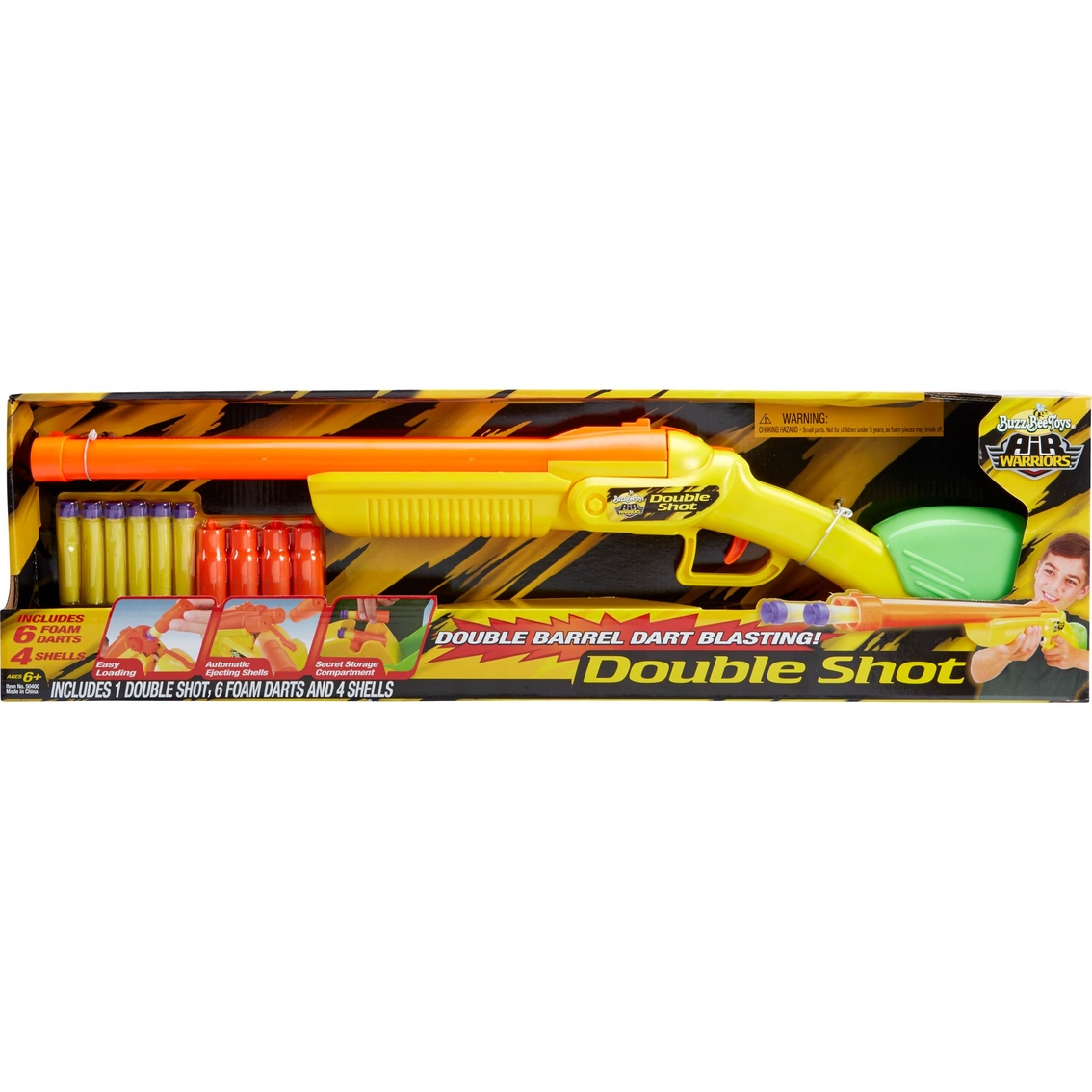 Buzz Bee Toys Air Warriors Side By Side Double Shot Blaster Blasters Soakers Baby Toys Shop The Exchange