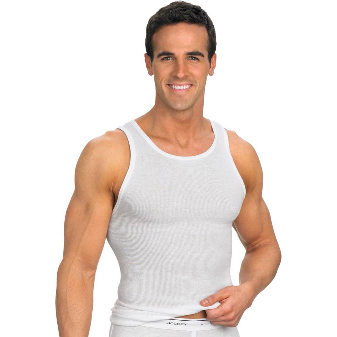 Jockey Classic A Shirt 3 Pk Undershirts Gifts Food