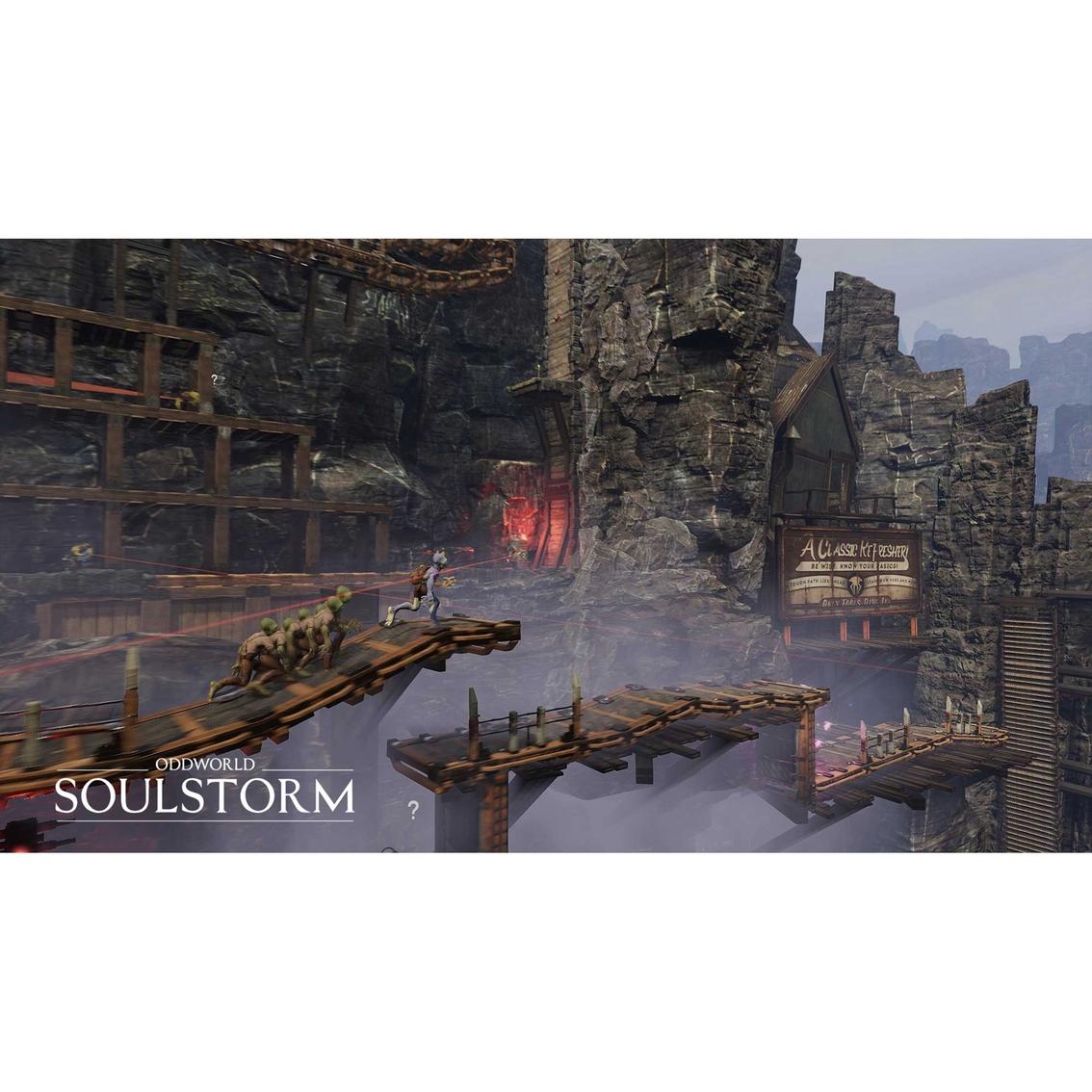 Oddworld Soulstorm Day One Oddition ps20   Playstation 20 ...