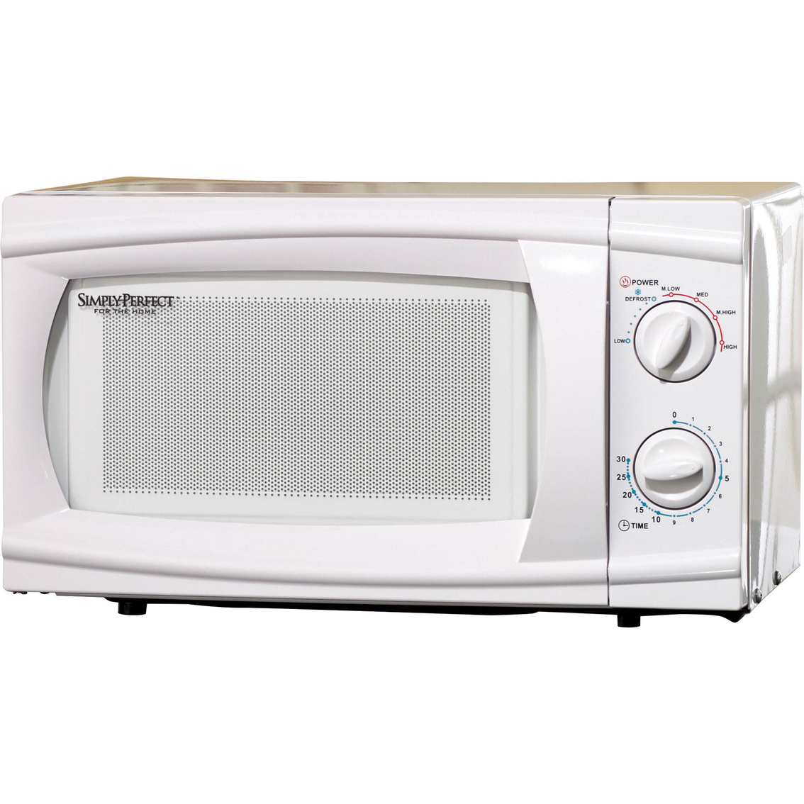 Simply Perfect Dial Microwave Small