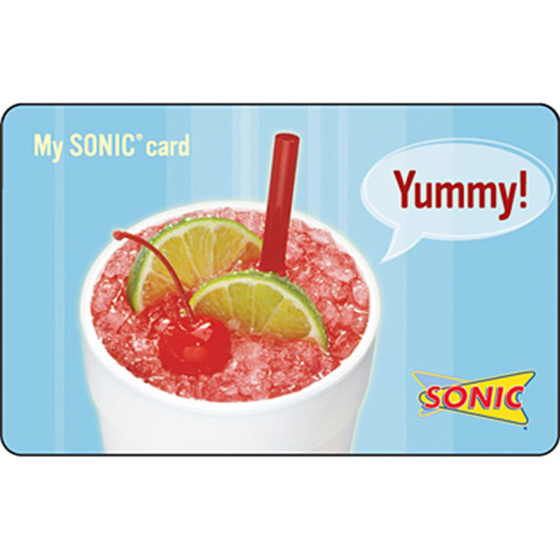 SONIC GIFT CARD