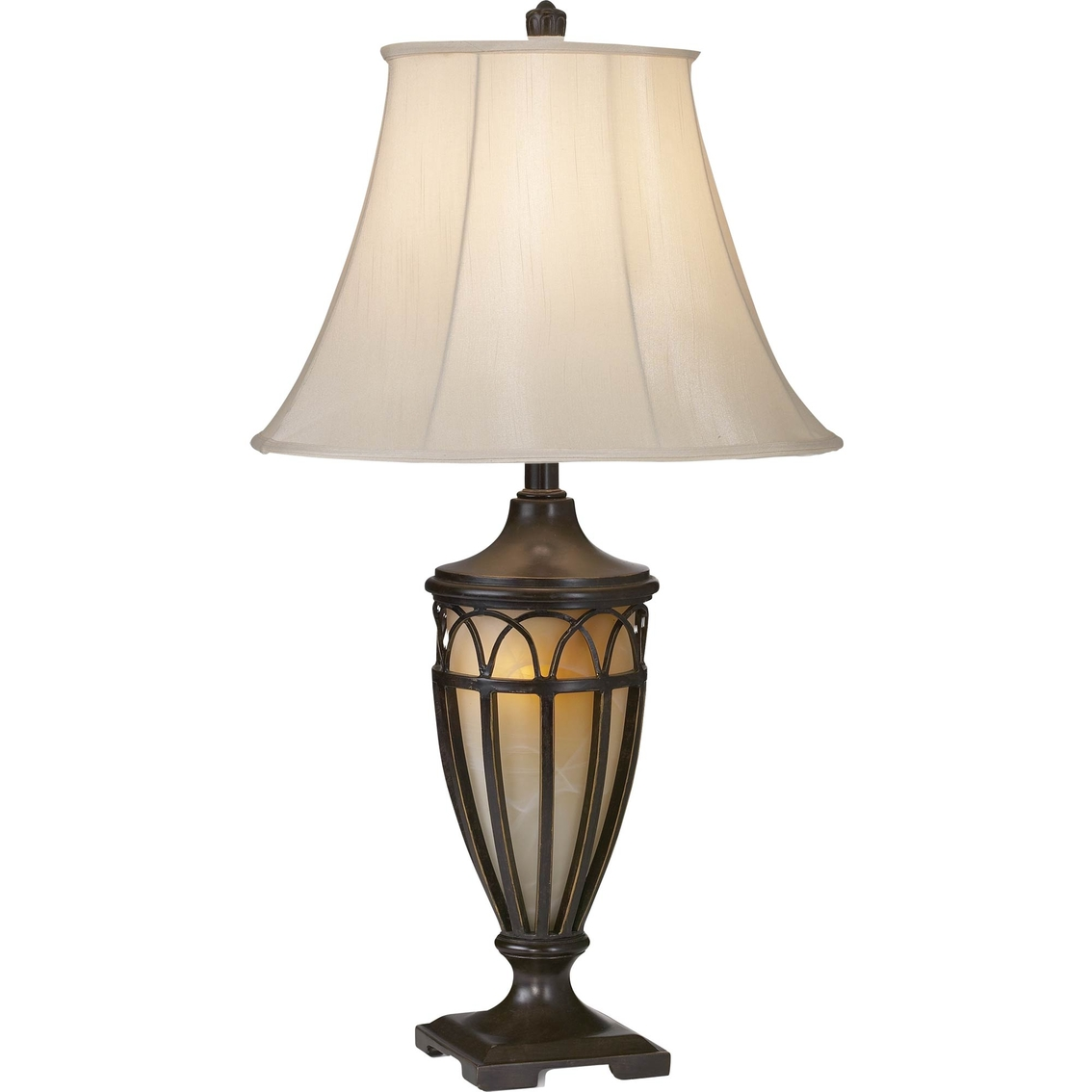 Pacific Coast Lighting Lexington Transitional Table Lamp With Night