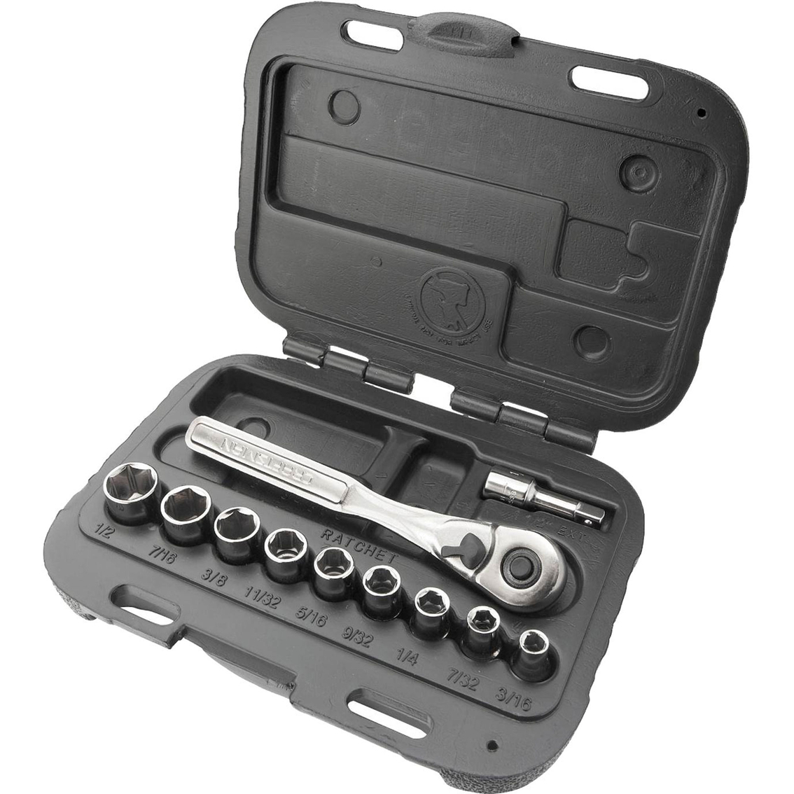 Craftsman 11 Pc 1 4 In Drive Metric Socket Wrench Set Wrenches