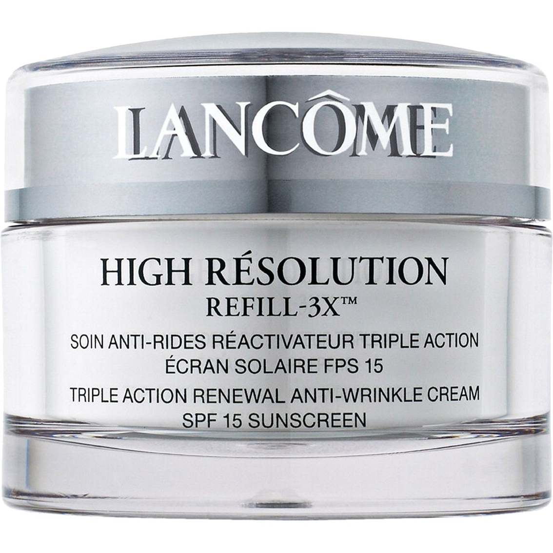 lancome high resolution refill 3x  triple action renewal anti wrinkle face cream