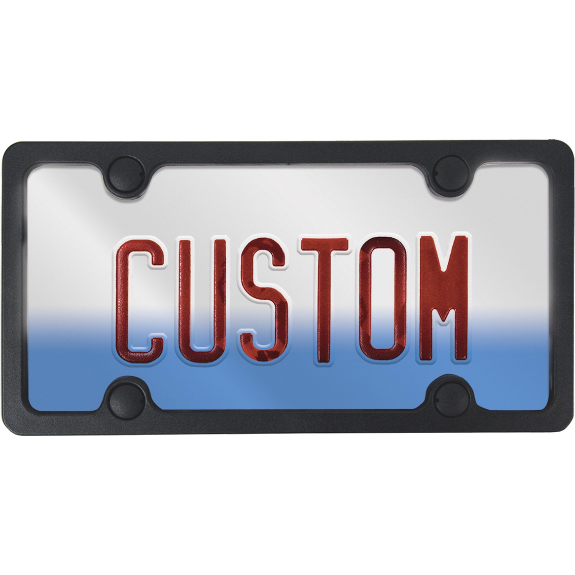 Custom Accessories Custom Frames License Plate Frame Kit | Exterior ...