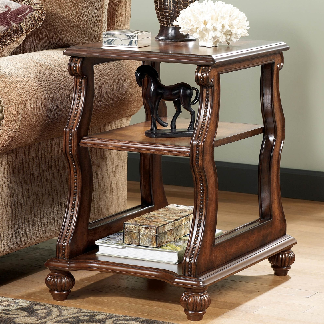 Ashley Shelton Chairside End Table Coffee Console End Tables Home Appliances Shop The