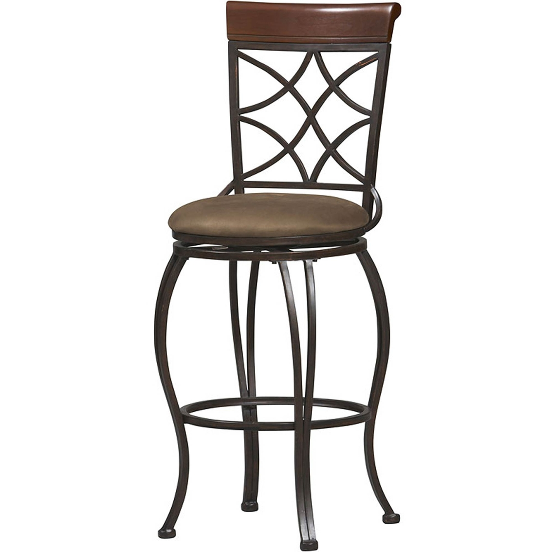Linon Curves Back 30 In Bar Stool Dining Seating Home